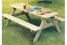 Heavy Duty Picnic Table 6ft